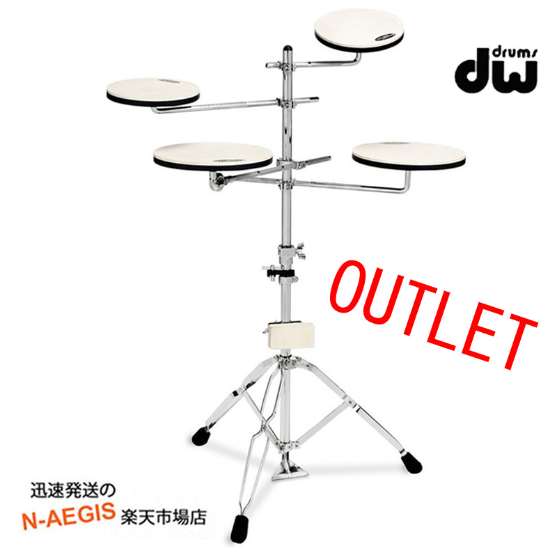 【OUTLET】DW-PAD-TS5 GO DW トレーニングパッドセット アウトレット
