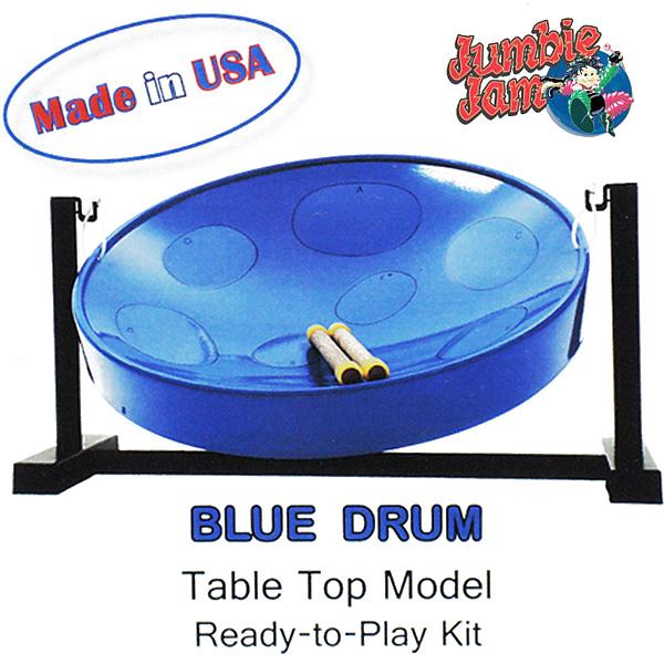【あす楽対応】PANYARD Jumbie Jam D1085BLUE ブルー スティールパン 卓上スタンド付テーブルキット ジャンビージャム パンヤード【送料込】【smtb-KD】【P2】