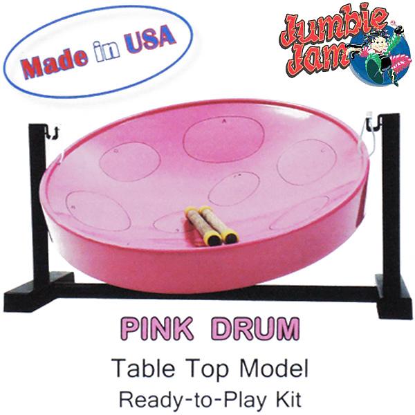 【あす楽対応】PANYARD Jumbie Jam D1086PINK ピンク スティールパン 卓上スタンド付テーブルキット ジャンビージャム パンヤード【送料込】【smtb-KD】【P2】
