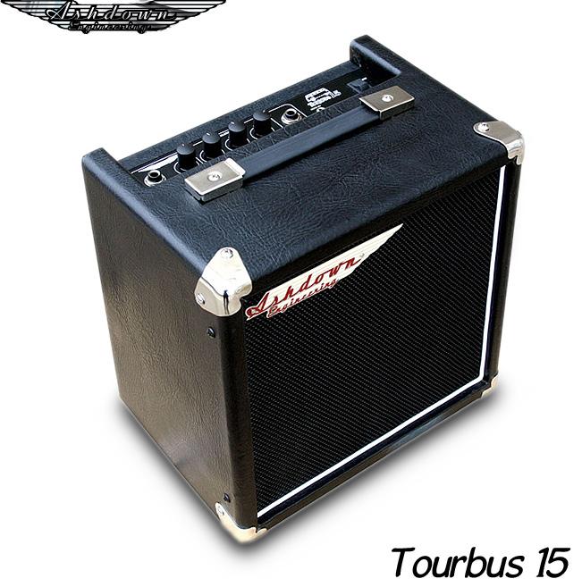 【あす楽対応】Ashdown/アッシュダウン TourBus15 ツアーバス15 15W出力 入門用アンプに最適なベースコンボ・アンプ
