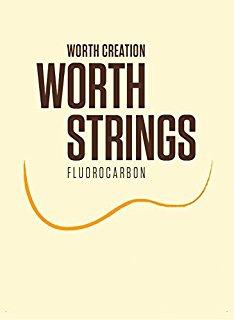 人気急上昇 大放出セール 送料激安 高品質で有名なウクレレ弦メーカー WORTH STRINGS ウクレレ弦 セット弦 1 カスタム ソプラノ コンサート向き BC ブラウンフロロカーボン ワースストリングス