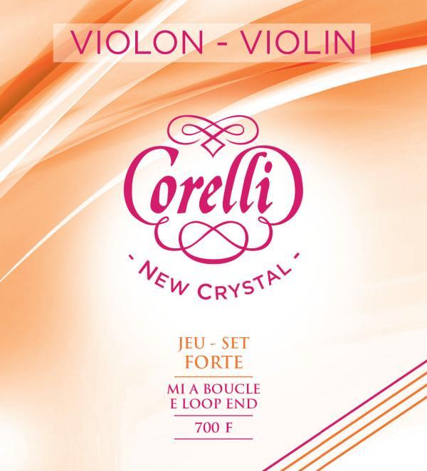 フランスのサバレス社製 VIOLIN String バイオリン弦 正規品送料無料 入荷予定 サバレス社 コレルリ ニュークリスタル フォルテ CRYSTAL バイオリンセット弦700F SAVAREZ ループエンドorボールエンド 700FB CORELLI NEW