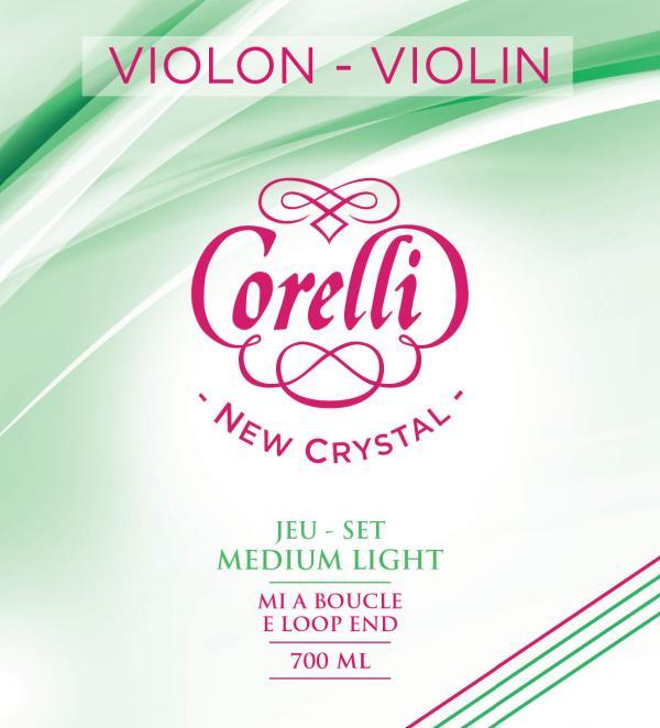 フランスのサバレス社製 VIOLIN String バイオリン弦 サバレス社 コレルリ ニュークリスタル ミディアムライト ついに再販開始 ループエンドorボールエンド バイオリンセット弦700ML CORELLI 本日限定 CRYSTAL 700MLB NEW SAVAREZ