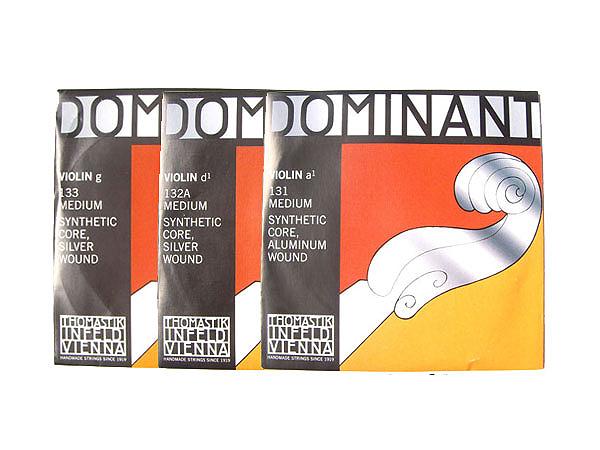 まとめ買い大歓迎 Dominant ADG線セット ドミナント 新商品 4 ADG バイオリン弦 超激安 D弦:132A A弦:131 G弦:133