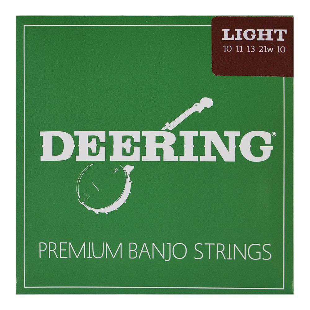 Greg Deering DeeringとDunlopが共同開発したバンジョー弦 奉呈 5弦バンジョー弦 ディーリング ST-L5 ライトゲージ 市場 DEERING