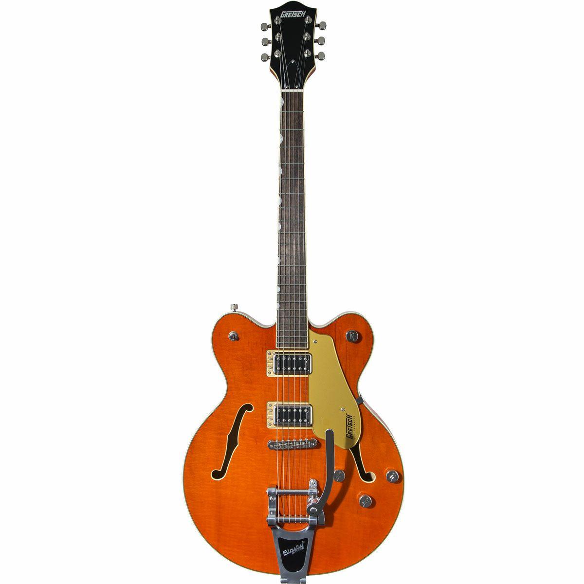 注目ブランド 【30日23:59までポイント10倍!】【正規品で安心】グレッチGRETSCH Gretsch G5622T Electromatic Center Block Double-Cut with Bigsby, Orange Stain (エレキギター)【RCP】【P5】, 買い保障できる 69fe3873