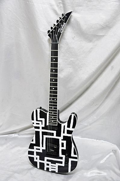 ホワイトライン【P2】 布袋寅泰モデルギター works/ゾディアックワークス 【受注生産品:納期はお問い合わせください】Zodiac LINE TC-HOTEI WHITE