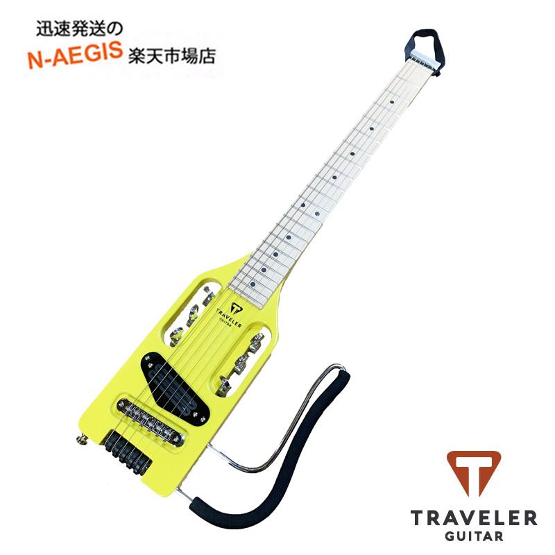 トラベラーギター サイレントギター TRAVELER GUITAR Ultra-Light Electric エレクトリックイエロー Yellow 超激安 実物 トラベルギター ギター ウルトラライトエレキ トラベラー