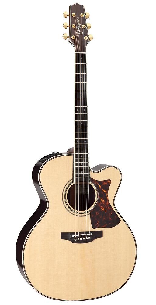 TAKAMINE(高峰ギター)エレアコ DMP000 NAT:ナチュラル+ハードケース(HC-000)付き 000シリーズ/タカミネ/高峰楽器