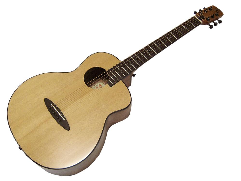 【あす楽対応】aNueNue/アヌエヌエ aNN-M10 シトカスプルーストップ単板 セミグロスフィニッシュ BirdGuitar/バードギター ミニギター【P2】