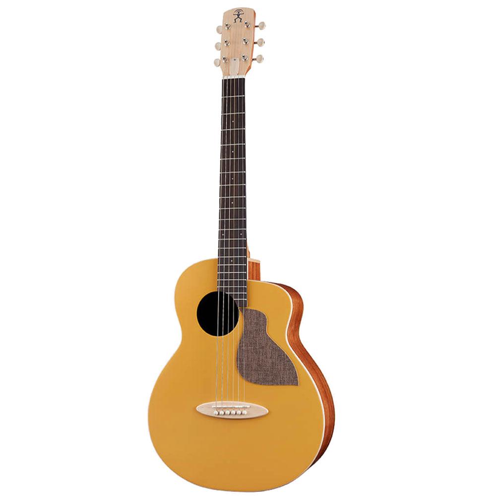ワンランク上のミニギター BirdGuitar 評価の高いバードギター aNueNue aNN-MC10-GGE アヌエヌエ お見舞い 5☆好評 ピックアップ付き エレアコ