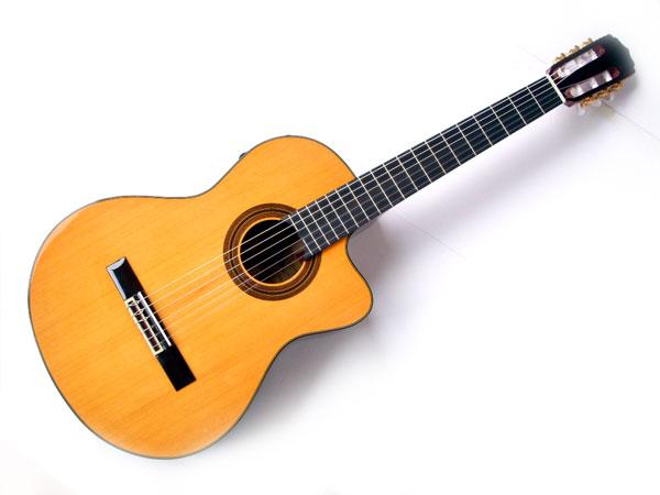 【充実10点セット!】ARIA/アリア A-35CE トップ:レッドセダー単板 エレガットモデル クラシックギター【P5】