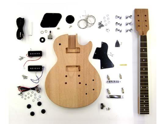 HOSCO ER-KIT-SLP エレキギター組立キット/作成キット レスポールスペシャルタイプ【楽ギフ_包装選択】【P2】