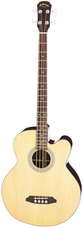 Aria Dreadnought AB-295/NAT ナチュラル Acoustic Bass(アコースティック・ベース) エレアコベース アリアドレッドノート アリドレ【送料込】【smtb-KD】【P5】