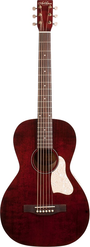 Art&Lutherie/アートアンドルシアー Roadhouse Tennessee Red☆エレクトリックアコースティックギター【P5】