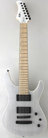 FUJIGEN/フジゲン JMY7-ASH-M TWF☆7弦 エレキギター Transparent White Flat トランスペアレント ホワイト フラット【P5】