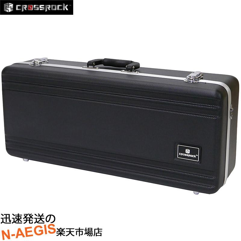 アルトサックス ハードケース CROSSROCK CRA860ASBK-R Black ABS樹脂製【P5】