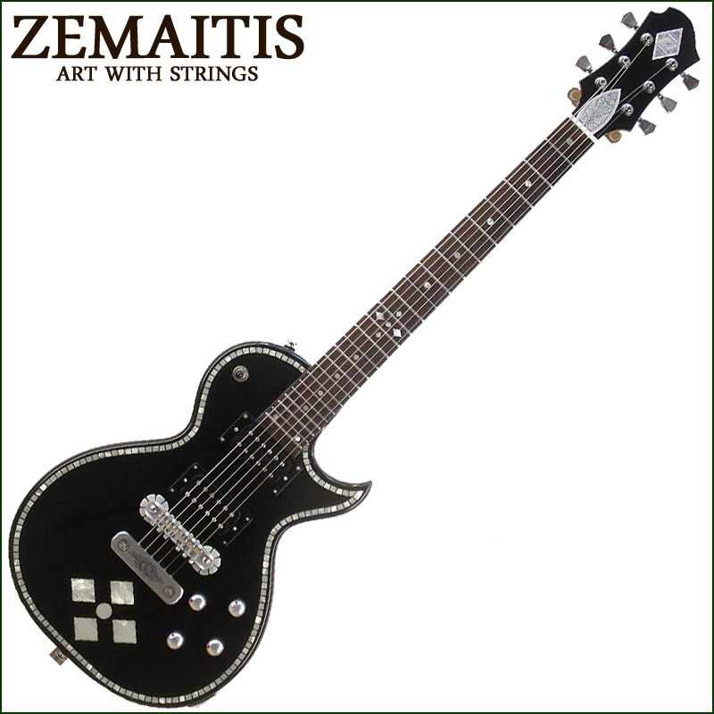 Zemaitis C24SU BLACK PEARL DIAMOND【P2】