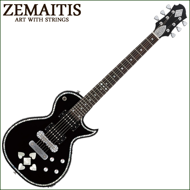 Zemaitis C24SU BLACK PEARL HEART【P2】