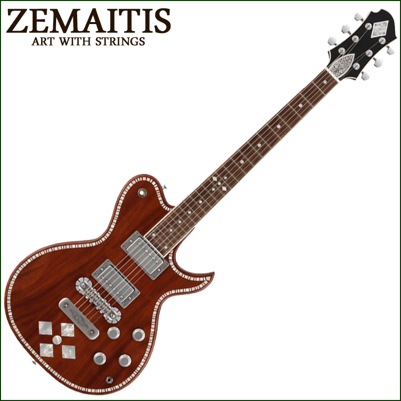 【正規品で安心♪♪】ZEMAITIS A24SU DC NP DIAMOND (エレキギター)【P5】