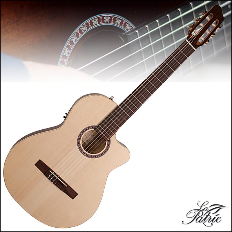 【安心の正規輸入品】LaPatrie Arena CW QIT クラシックギター エレガット ラ・パトリエ 【P5】