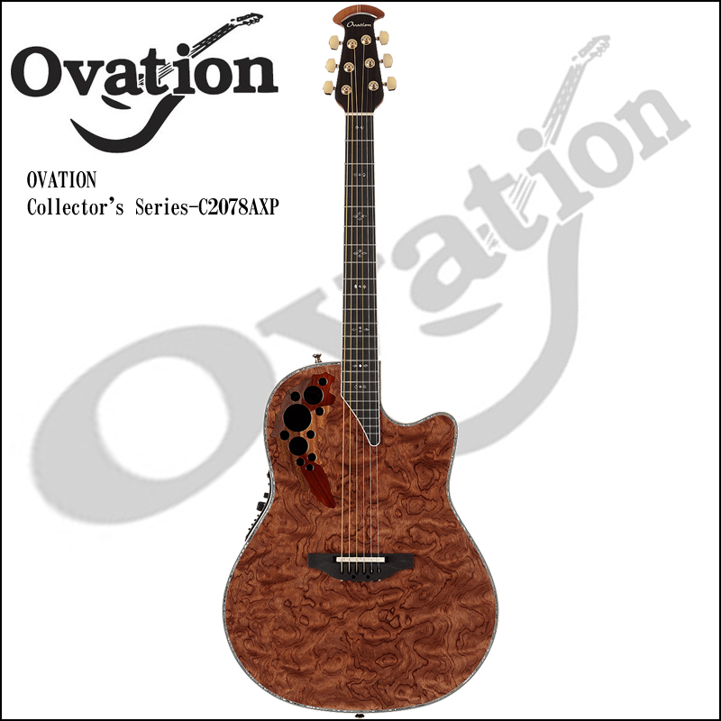 Ovation Collector's Series - C2078AXP WB【P2】