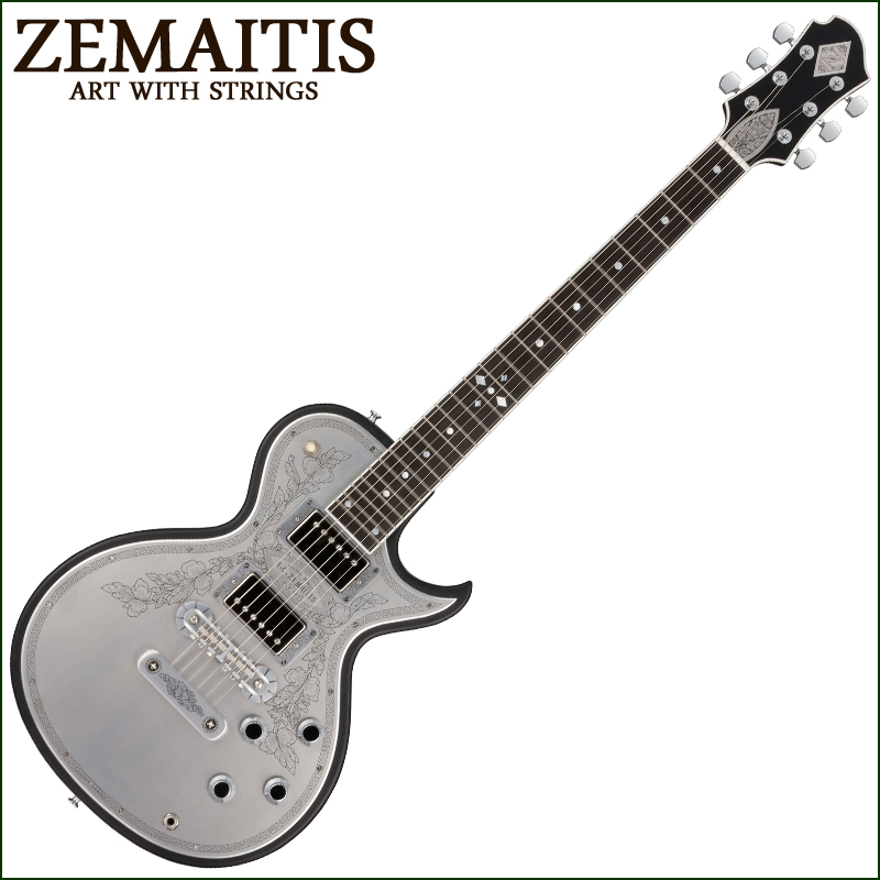 ZEMAITIS(ゼマイティス) CS24MF CUSTOM BLACK METAL FRONT / CUSTOM SHOP カスタムショップ エレキギター
