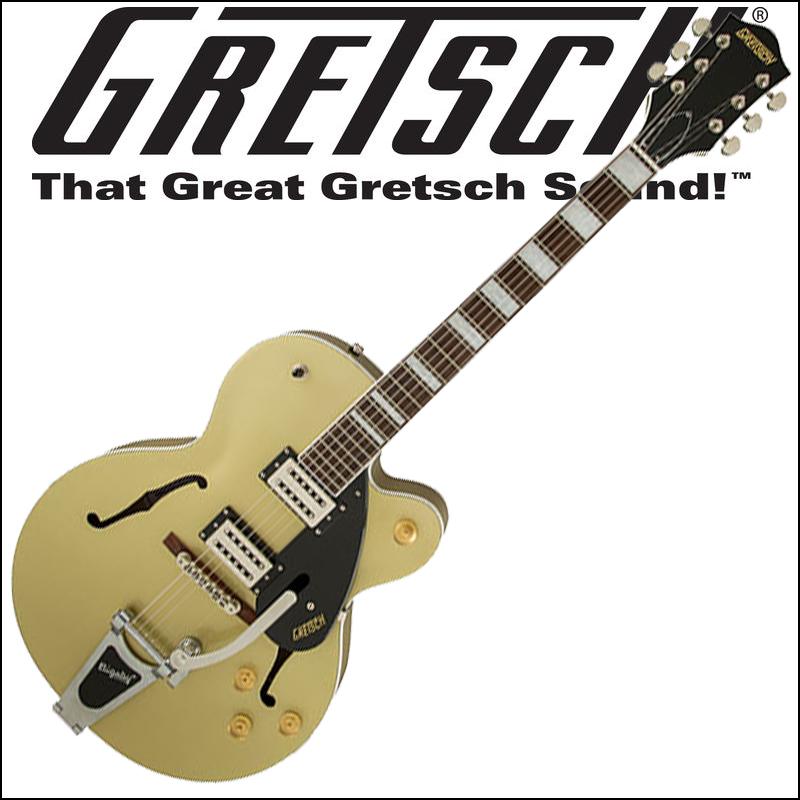 【正規品で安心♪♪】GRETSCH G2420T Streamliner Hollow Body with Bigsby Gold Dust グレッチ(エレキギター)ストリームライナー・コレクション【P5】