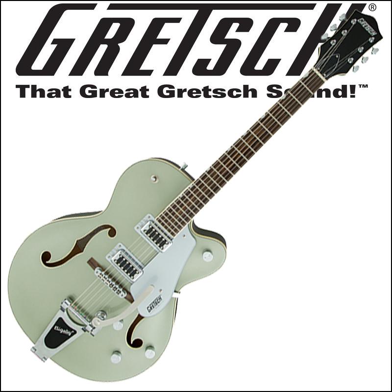 【正規品で安心♪♪】GRETSCH G5420T Electromatic Hollow Body Single-Cut with Bigsby Aspen Green (エレキギター)【P5】
