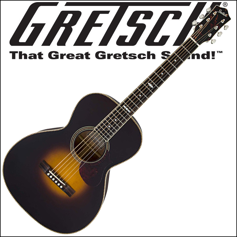 【正規品で安心♪♪】GRETSCH G9531 Style 3 Double-O Grand Concert Appalachia Cloudburst(アコースティックギター)【P2】