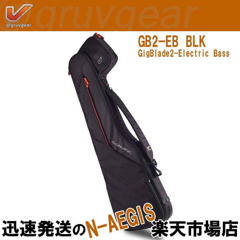 GRUVGEAR エレキベース用ギグバッグ GigBlade2 - EB GB2-EB BLK ギグブレード グルーブギア【P5】
