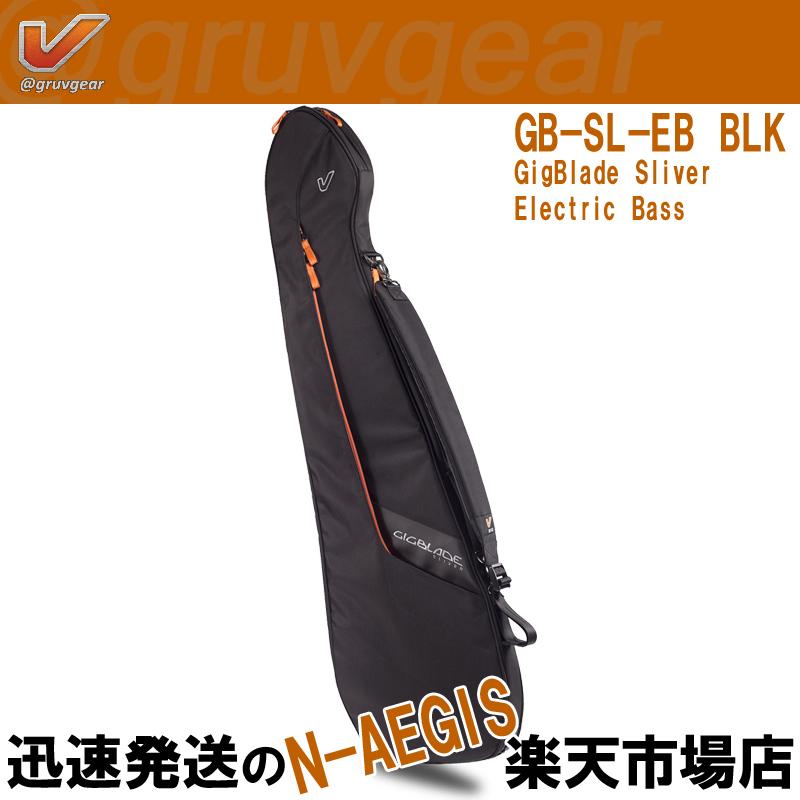 GRUVGEAR エレキベース用ギグバッグ GigBlade Sliver - EB GB-SL-EB BLK ギグブレード・スライバー グルーブギア【P5】