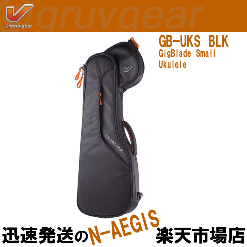 GRUVGEAR テナーウクレレ用ギグバッグ Ukulele GigBlade Large GB-UKL BLK グルーブギア【P10】