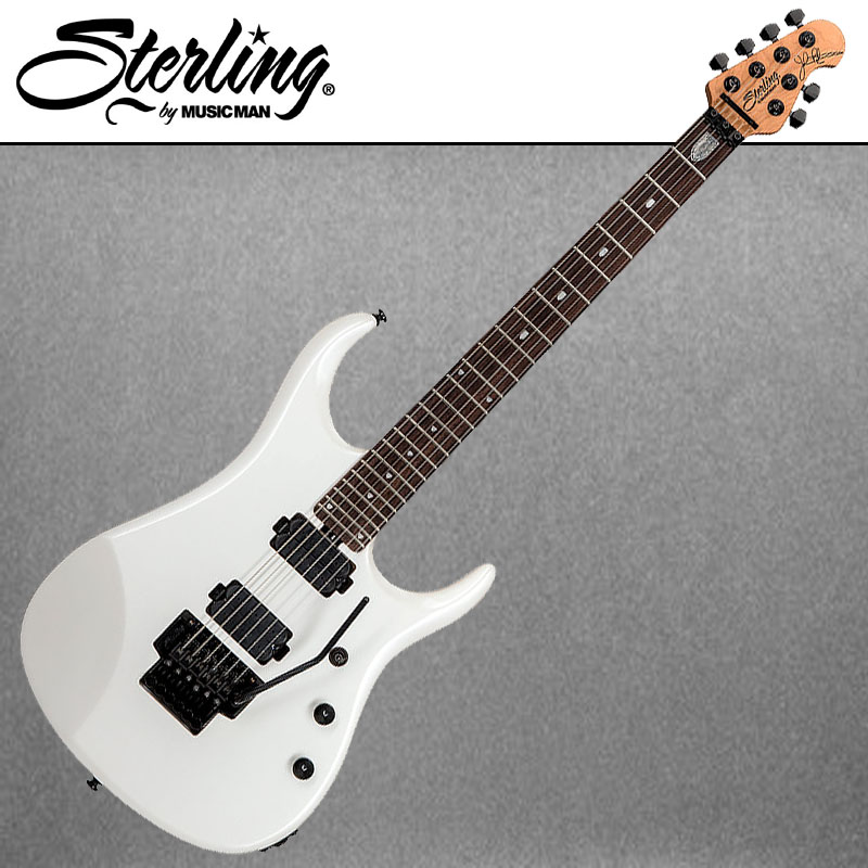 【安心の正規輸入品】Sterling by MUSICMAN John Petrucci Signature Model JP160 Pearl White エレキギター 【P5】