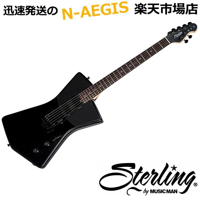 Sterling by MUSIC MAN/スターリン バイ ミュージックマン STV60 Stealth Black St Vincent Signature Models ステルスブラック STV-60 エレキギター【P5】