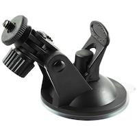 DCMR 定番スタイル 2020モデル Camera 車載 カメラ 固定 スタンド コンパクト 強力吸盤 自由雲台 使い方広がる 軽量 付き 1点
