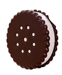 DCMR クッキー ビスケット コンタクトレンズ キット ケース 鏡 ピンセット オイルケース 雑貨 旅行 便利 携帯