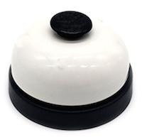 DCMR プレゼン チーン チンチン ベル タイム カウンター ホワイト でかポチ セール 登場から人気沸騰 大きな 鈴 人気ショップが最安値挑戦 テーブル 店舗 ボタン 試験 押しやすい 面接 卓上