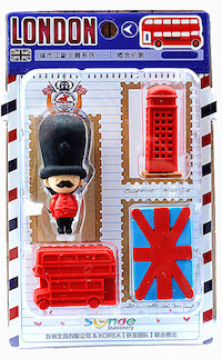 DCMR 文具 スーパーセール ブリティッシュ 兵隊 消しゴム イギリス 電話ボックス リアル イレイサー カラフル ロンドンバス トイ 3D 最安値挑戦
