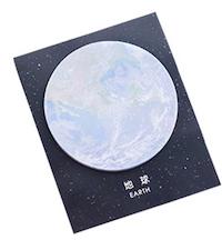 DCMR 立体 宇宙 の 自由 メモ帳 ポストイット 地球 程度 1点 D 30枚 春の新作続々 !超美品再入荷品質至上! 立体3 デザイン 10.7x9cm