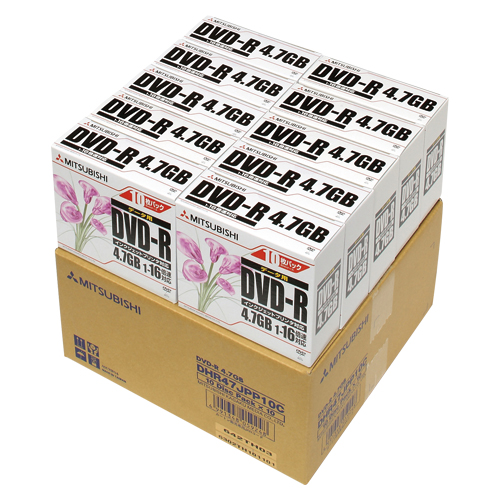 三菱化学メディア【AC】データ用DVD-R 100枚DHR47JPP10C★【DHR47JPP10C】