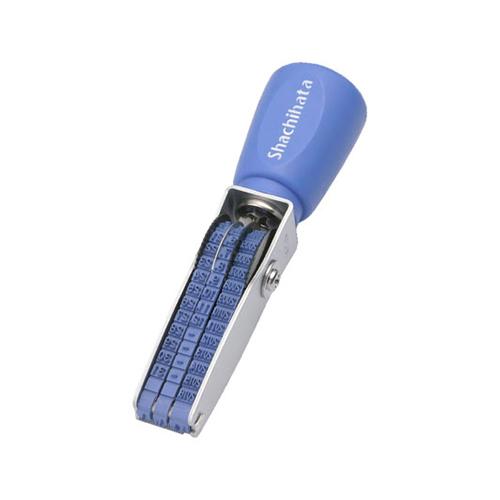 15:00迄の在庫商品のご注文分は最短で当日出荷 シヤチハタ AC 発売モデル 現品 欧文日付 ゴシック体NFD-36G NFD36G 6号3連