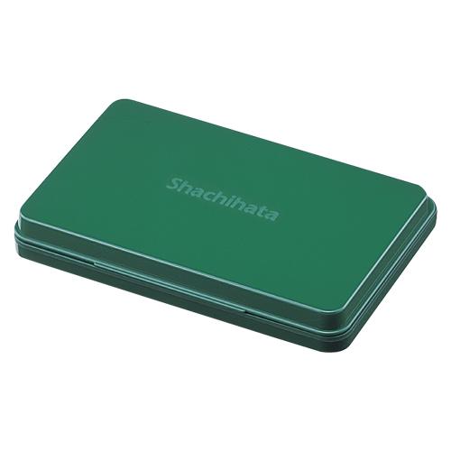 15:00迄の在庫商品のご注文分は最短で当日出荷 シヤチハタ 購買 AC シヤチハタスタンプ台 現品 大型 緑HGN-3-G HGN3G