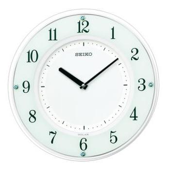 <title>15:00迄の在庫商品のご注文分は最短で当日出荷 セイコー 発売モデル SEIKO ソーラープラス電波掛け時計 SF505W SF-505W</title>