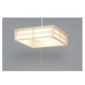 アイリスオーヤマ【IRIS】和風ペンダントライト 8畳調光(電球色) PLC8L-J★【PLC8LJ】