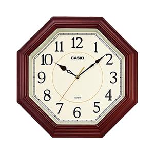 15:00迄の在庫商品のご注文分は最短で当日出荷 上品 CASIO 休み カシオ 壁掛け時計 IQ-123S-5JF IQ123S5JF
