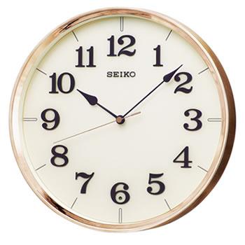 セイコー【SEIKO】電波掛け時計 スタンダード 銅色光沢仕上げ KX221G★【ナチュラル】