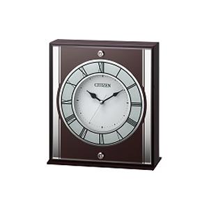 リズム時計【RHYTHM】木枠置時計 8RG622-006★【8RG622006】