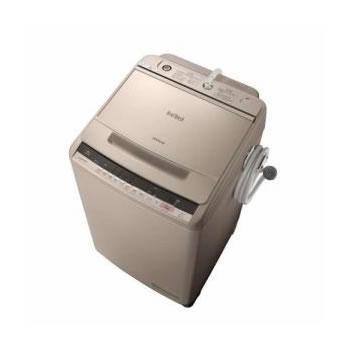 日立【HITACHI】洗濯10.0kg 全自動洗濯機 ビートウォッシュ BW-V100C-N(シャンパン)★【BWV100CN】