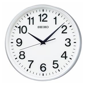 全国どこでも送料無料 15:00迄の在庫商品のご注文分は最短で当日出荷 セイコー SEIKO GP217S 衛星電波掛時計 スペースリンク 通信販売